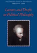 Kant: Lectures and Drafts on Political Philosophy