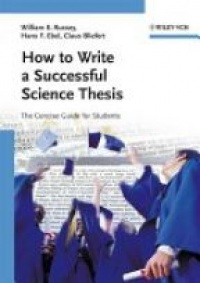Russey - How to Write a Succesful Science Thesis
