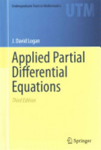 Logan - Applied Partial Differential Equations