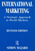 International Marketing. A strategic approach to world markers